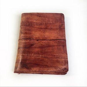 Vintage Genuine Eel Skin Wallet Billfold